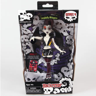 bábu Goth Silver Spring Fashion Doll Lunabella - Purple