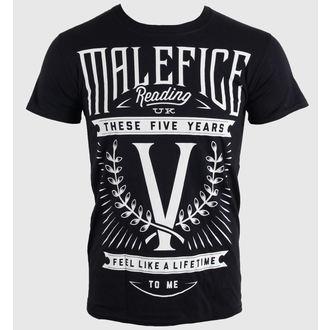 metál póló férfi Malefice - Five Years - LIVE NATION, LIVE NATION, Malefice