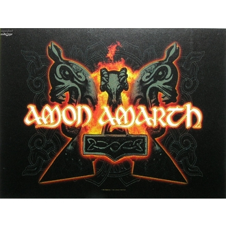 zászló Amon Amarth - Hammers, HEART ROCK, Amon Amarth