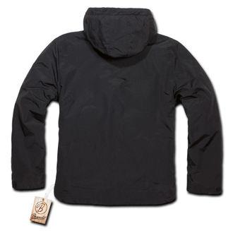tavaszi/őszi dzseki férfi - Windbreaker Black - BRANDIT - 3001-black