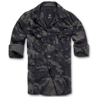 ing férfi Brandit - Men Shirt Slim Darkcamo, BRANDIT