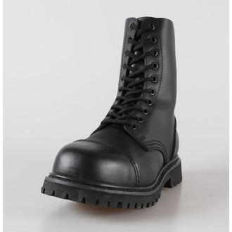 cipő bőr 10 lyukú Brandit - Phantom Black, BRANDIT