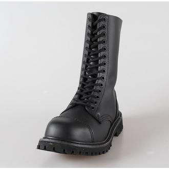 cipő bőr 14 lyukú Brandit - Phantom Black, BRANDIT