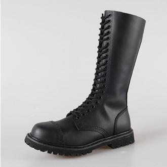 cipő bőr 20 lyukú Brandit - Phantom Black, BRANDIT