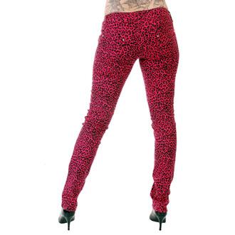 nadrág női 3RDAND56th - Print Skinnies - Pink - JM409