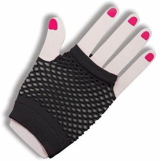 kesztyű (ujj) LEGWEAR - Short Fishnet - Black - SAGSFN1BL1
