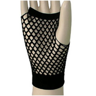 kesztyű (ujj) LEGWEAR - Short Fishnet - Black, LEGWEAR