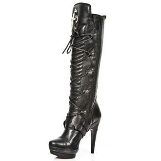 magassarkú cipő női - PUNK062-S1 - NEW ROCK, NEW ROCK