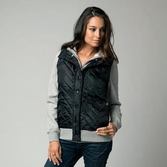 kapucnis pulóver női - Feature ZIP - FOX, FOX
