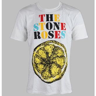 metál póló férfi Stone Roses - Logo Lemon Multicolour - ROCK OFF, ROCK OFF, Stone Roses