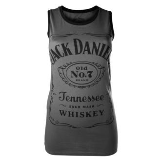 trikó női Jack Daniels - Charcoal - BIOWORLD, JACK DANIELS