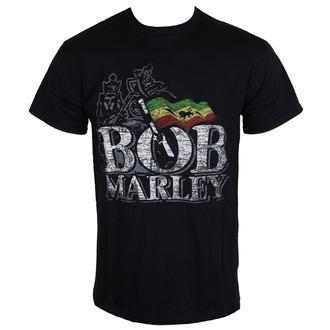 metál póló férfi Bob Marley - Distressed Logo - BRAVADO EU, BRAVADO EU, Bob Marley