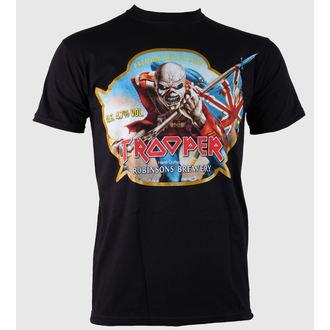 metál póló férfi Iron Maiden - Trooper Robinsons Beer - ROCK OFF, ROCK OFF, Iron Maiden