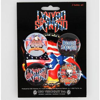jelvények Lynyrd Skynyrd - CDV, C&D VISIONARY, Lynyrd Skynyrd