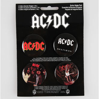 jelvények AC / DC - CDV, C&D VISIONARY, AC-DC