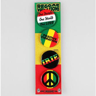 jelvények DSX Reggae&Rasta - Asorted, C&D VISIONARY
