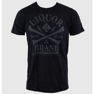 hardcore póló férfi - Crossbones - LIQUOR BRAND, LIQUOR BRAND