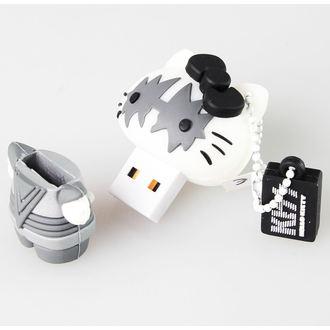 flash disc USB 8GB (kulcstartó) KISS - HELLO KITTY - The Spaceman, HELLO KITTY, Kiss
