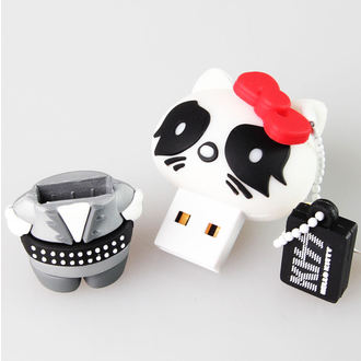 flash disc USB 8GB (kulcstartó) KISS - HELLO KITTY - The Catman, HELLO KITTY, Kiss
