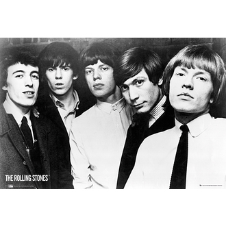 poszter The Rolling Stones - Group, NNM, Rolling Stones