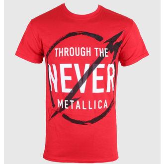 metál póló férfi Metallica - Never - LIVE NATION, LIVE NATION, Metallica