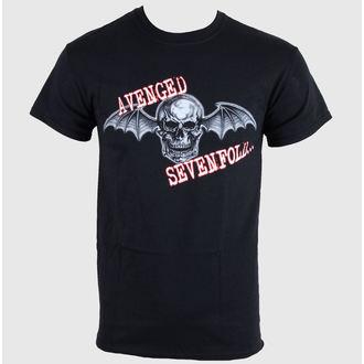 metál póló férfi Avenged Sevenfold - Death Bat Glow Skull - LIVE NATION, LIVE NATION, Avenged Sevenfold