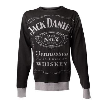 szvetter férfi Jack Daniels - Knitted Sweater - Black - BIOWORLD, JACK DANIELS