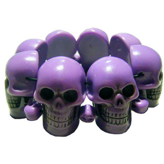karkötő KREEPSVILLE SIX SIX SIX - Skull - Purple, KREEPSVILLE SIX SIX SIX