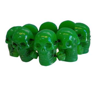 karkötő KREEPSVILLE SIX SIX SIX - Skull - Green, KREEPSVILLE SIX SIX SIX