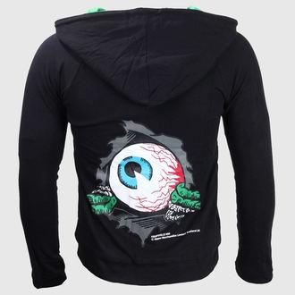 kapucnis pulóver női - Eyeball - KREEPSVILLE SIX SIX SIX, KREEPSVILLE SIX SIX SIX