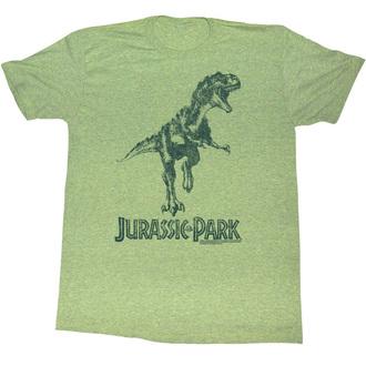 filmes póló férfi Jurský park - Green T-Rex - AMERICAN CLASSICS, AMERICAN CLASSICS