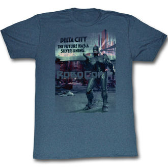 filmes póló férfi Robocop - Silver - AMERICAN CLASSICS, AMERICAN CLASSICS