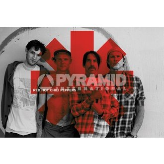 poszter Red Hot Chili Peppers - Red Asterix - PYRAMID POSTERS, PYRAMID POSTERS, Red Hot Chili Peppers