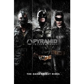 poszter Batman - The Dark Knight Rises - Three - PYRTheMIS POSTERS, PYRAMID POSTERS