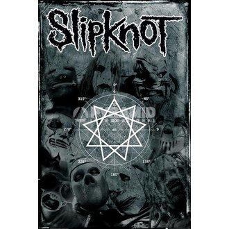 Slipknot poszter - Pentagram - PYRAMID POSTERS, PYRAMID POSTERS, Slipknot
