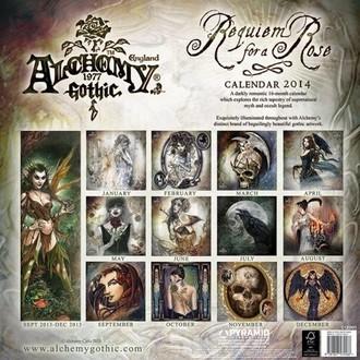 naptár  év 2014 Alchemy - PYRAMID POSTERS, ALCHEMY GOTHIC