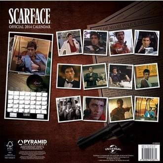 naptár  év 2014 Scrfce - PYRAMID POSTERS, PYRAMID POSTERS
