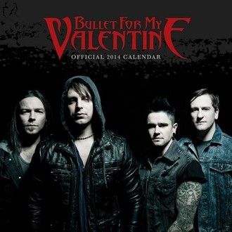 naptár  év 2014 Bullet For My Vlentine - PYRAMID POSTERS, PYRAMID POSTERS, Bullet For my Valentine