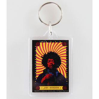 kulcstartó (kulcstartó) Jimi Hendrix - Pyschedelic - PYRAMID POSTERS, PYRAMID POSTERS, Jimi Hendrix