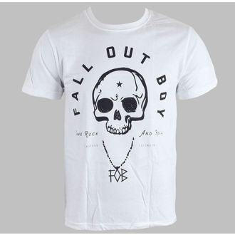 póló férfi Fall Out Boy - Headdress - White - LIVE NATION, LIVE NATION, Fall Out Boy