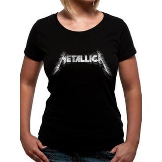 metál póló női Metallica - Spiked Logo - - RTMTLGSBSPI