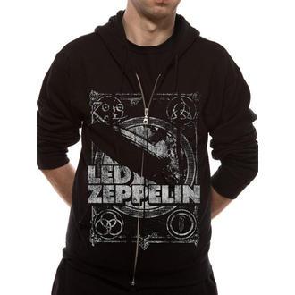 kapucnis pulóver férfi Led Zeppelin - Shook Me - LIVE NATION, LIVE NATION, Led Zeppelin