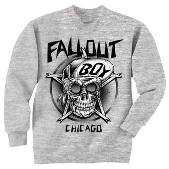 pulóver (kapucni nélkül) férfi Fall Out Boy - Skull - LIVE NATION