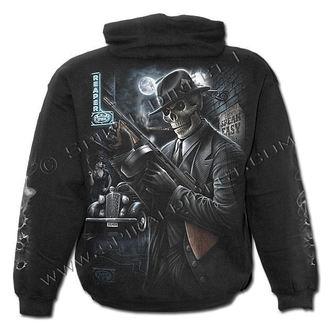kapucnis pulóver férfi - Gangster - SPIRAL