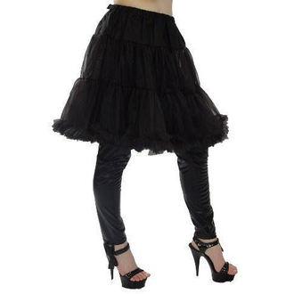 szoknya női (alsószoknya) POIZEN INDUSTRIES - Midi Petticoat - Black