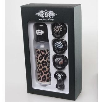 ROCK STAR BABY gyermek ajándék szett - Leopard