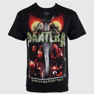 metál póló férfi Pantera - Lightning Skulls - BRAVADO, BRAVADO, Pantera