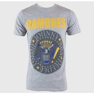 metál póló férfi Ramones - Y&B Seal - BRAVADO, BRAVADO, Ramones