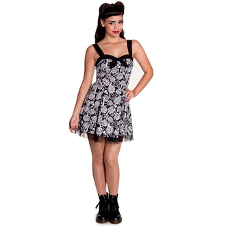 ruha női HELL BUNNY - Avalon Mini - Black/Wht, HELL BUNNY
