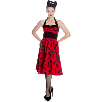 ruha női HELL BUNNY - Bat 50´s - Red/Black, HELL BUNNY
